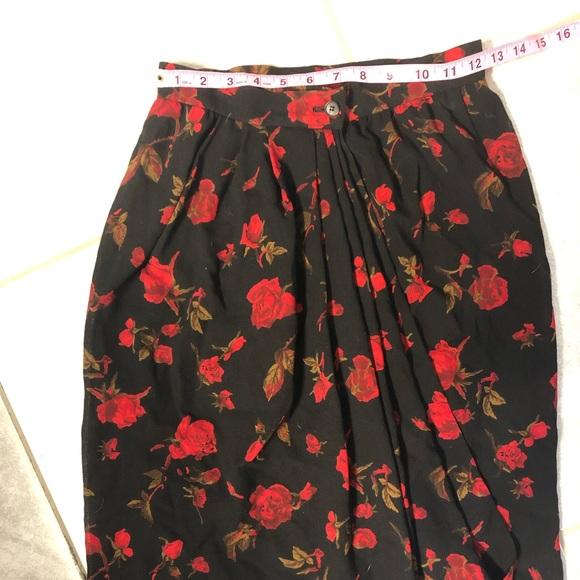 Yves Saint Laurent Dresses & Skirts - RARE! Yves Saint Laurent Wrap Skirt
